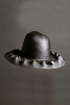 73363b79 Esenshel Hats Dome Ruffle Wide Brim Hat Wide-brim Hat, Grosgrain Ribbon,  Cowboy