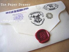 Carta de admisión a Hogwarts personalizada ~ clic para ver más.
