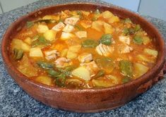 Healthy Eating at a Restaurant Is it Possible Spanish Kitchen, Spanish Dishes, Spanish Food, Seafood Recipes, Soup Recipes, Vegetarian Recipes, Healthy Recipes, Seafood Meals, Pyrex