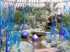 Dale Chihuly glass installation at the Phipps Conservatory, Pittsburgh, 2007.