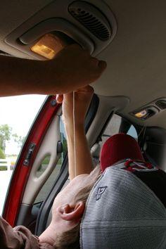 GREAT idea for long car trips!