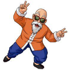 Dragon Ball Master Roshi Eyebrow And Goatee Cosplay Accessory Prop Tatoo Manga, Majin, Manga Dragon, Manga Drawing Tutorials, Dbz Characters, Manga Anime One Piece, King Of Fighters, Fan Art, Son Goku