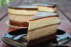 Nagyon szeretjük a mousse tortát, és igyekeztem valami különlegeset kitalálni, így megalkottam ezt a kávés tortát!:)   Hozzávalók (2... Hungarian Desserts, Hungarian Cake, Hungarian Recipes, Dessert Drinks, Dessert Recipes, Croatian Recipes, Mousse, Cakes And More, Sweet Recipes