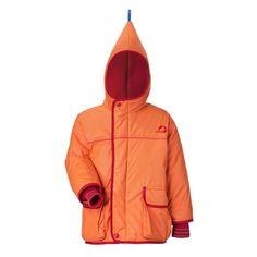 New Finkid Jacket - Winter parka - Skijacket - Zwergen TALVI - orange/red
