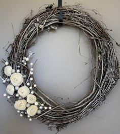 Handmade christmas felt wreath #DIY