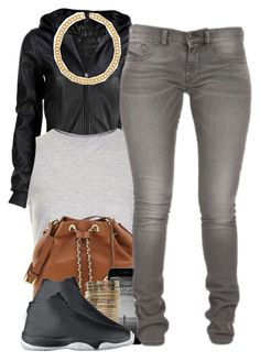 """""""12-8-14"""" by polyvoreitems5 ❤ liked on Polyvore featuring VIPARO, Topshop, MICHAEL Michael Kors, Forever 21 and NIKE"""