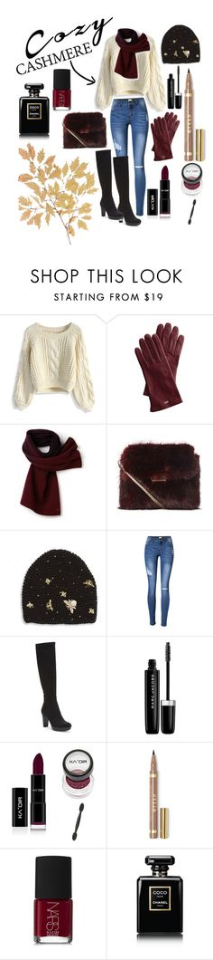 """""""Untitled #14"""" by sam6995 ❤ liked on Polyvore featuring Chicwish, Mark & Graham, Lacoste, Jennifer Behr, Donald J Pliner, Marc Jacobs, NARS Cosmetics and Chanel"""