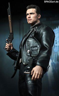 Terminator 2: T-800 (Arnold Schwarzenegger), Fertig-Modell ... http://spaceart.de/produkte/te001.php