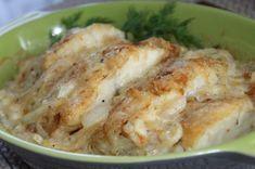 Обожаю так готовить рыбку — в сливочно-луковом соусе под сыром