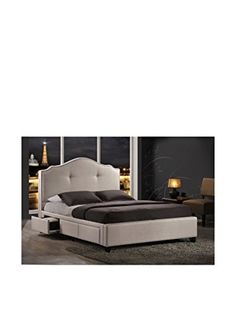 Baxton Studio Armeena Linen Modern Storage Bed with Upholstered Headboard, King, Beige, http://www.amazon.com/dp/B00HD5UIJI/ref=cm_sw_r_pi_awdm_GV5Twb1CN0EGB