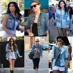 jean jackets work with anything!! Never get rid of them.