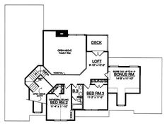 Plan No.442752 House Plans by WestHomePlanners.com