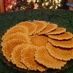 French Cookies (Belgi Galettes) Allrecipes.com    My Grandmother always made these for Christmas... a special memory.
