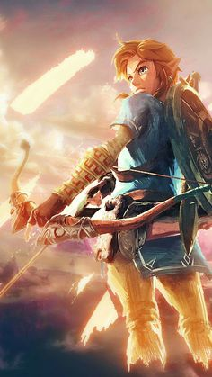Zelda breath of the wild video dessin, dessin manga, link loup, fond d The Legend Of Zelda, Legend Of Zelda Breath, Link Zelda, Fanart, Breath Of The Wild, Video Game Art, Game Character, Gaming, Game Art
