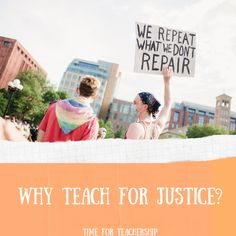 Why Teach for Justice? During COVID and distance learning and concerns about masks, why is it important our curriculum is centered on racial justice? To get my take and a BIG #teacherfreebie, check out the Time for Teachership blog post. For more ideas on curriculum design and how to work for educational equity, sign up for weekly emails at bit.ly/lindsayletter #teachinginspiration #antiracism Authentic Leadership, Gender Equity, Student Leadership, Teacher Freebies, Curriculum Design, Literacy Skills, Project Based Learning, Student Engagement