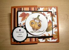 Joy fold House Mouse by argonlake - Cards and Paper Crafts at Splitcoaststampers