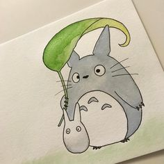 Totoro Watercolor -