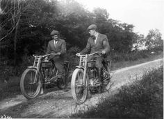 Walter Davidson and Bill Harley