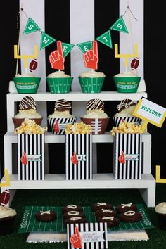 Ready. Set. Hut. PARTY! Football Birthday Party or Super bowl Party