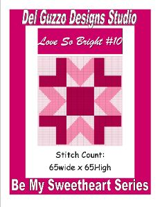Pattern Description:  SIZE:  Pillow size pattern 65x65  Series/Collection: Be My Sweetheart  Pattern Information:  PDF consisting of 15 pages  A full color pattern containing a front cover, small complete graph, how to tape pages together, large graph broken down onto multiple pages for ease of viewing. (can be zoomed in and out)  Color key for Red Heart Yarns.  Instructions for how to read my graphs/patterns  And a Stitch and Skein count in an easy to read chart for G, H, & I hooks in SC…