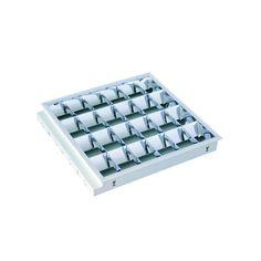 DOWNLIGHTS : ΦΩΤΙΣΤΙΚΟ ΨΕΥΔΟΡΟΦΗΣ ΧΩΝΕΥΤΟ ΑΛΟΥΜΙΝΙΟΥ ΜΕ ΗΛΕΚΤΡΟΝΙΚΟ ΜΕΤΑΣΧΗΜΑΤΙΣΤΗ 4Χ18W N.147-56150 Led Tubes, Downlights, Computer Keyboard, Computer Keypad, Keyboard