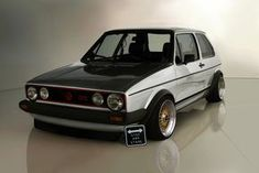 Volkswagen Golf MKI GTI – Stop and stare