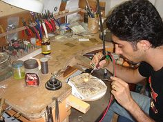 In my workshop by Gantzi, via Flickr