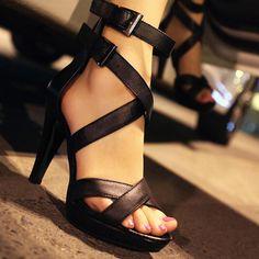 Beautiful Black High heels 2013