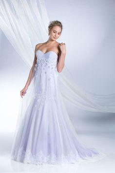 Rapunzel Inspired Princess Wedding Dress - 2015 Disney's Fairy Tale Weddings by Alfred Angelo