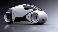 The Legacy Vintage Light Cycle is a styling tribute to the original design by Syd Mead in 1982.
