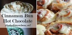 Starbucks Secret Menu: Cinnamon Bun Hot Chocolate