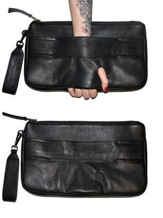 357c7ebf3507d Like a punk version of the Prada clutch from a few seasons ago. Braune  TascheLeder ...