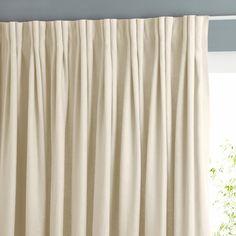 Rideau pur lin à plis flamands Lincoln Am.Pm | La Redoute