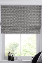 Buy Woven Geo Roman Blind from the Next UK online shop Roman Blinds Design, Paper Blinds, Blackout Roman Blinds, Kitchen Blinds, Lined Curtains, Woodland Nursery Decor, Roller Blinds, Blinds For Windows, Home Look