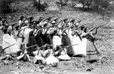 the-history-of-fighting:  Female soldiers from the Mexican Revolution, (1910 - 1920)