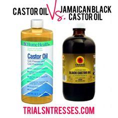 Castor Oil Vs. Jamaican Black Castor Oil (