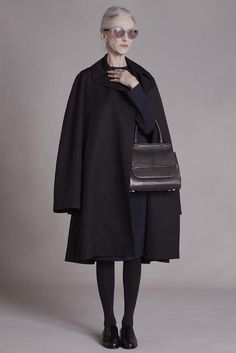 The Row. Always brilliant. And this time, using older models, like Linda Rodin. So. Refreshing.