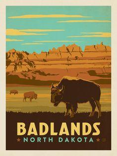 Anderson Design Group – American Travel – Badlands, North Dakota