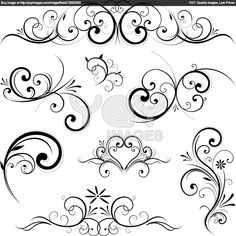 what is that technique of drawing swirls - Google Search
