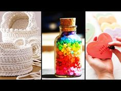 DIY Room Decor & Organization! 10 Easy & Inexpensive Crafting Ideas - YouTube