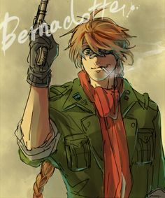 Pip Bernadotte - Hellsing Ultimate. He became my favorite character. And then died a few episodes later.... :C
