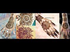 Pakistani Indian Eid Mehndi Designs Collection 2017