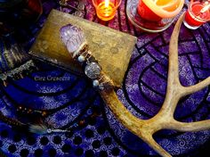 The Morrigan- Antler Wand Wiccan Wands, Magick, Witchcraft, Wizard Staff, Wizard Wand, Celtic Goddess, Shadow Pictures, Magic Wands, Witch Spell