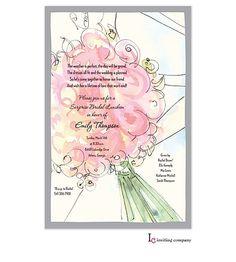 Her Bouquet Invitation | Inviting Company