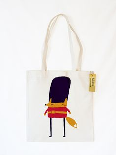 "Jutebeutel ""Londoner Guard"" // tote bag by Shop Noless via DaWanda.com"