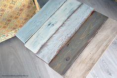 Tutorial cómo envejecer madera