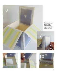 Pop up box card tutorial