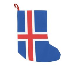 Shop Flag of Iceland Small Christmas Stocking created by AwesomeFlags. Iceland Flag, Small Christmas Stockings, National Flag, Dog Bowtie, Invitation Cards, Flags, Art For Kids, Wedding Gifts, Kids Outfits
