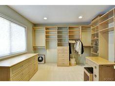 Nice Closet (bedroom converted to closet)