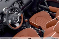Mini Cooper S Sidewalk...sweet interior